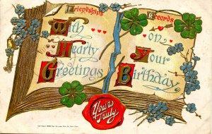 Greeting - Birthday    *RPO- Wichita, Texas & Altus Railroad