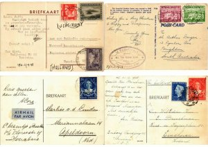 INDONESIA, ASIA, DUTCH INDIES POSTAL HISTORY 15 CPA (L2708)