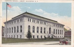 Library , MANCHESTER , New Hampshire , PU-1920