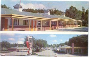 Hammer's Mo-Tel Kearney Nebraska NE U.S. 30 1959