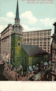 Massachusetts Boston Old South Church