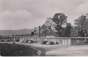 Kentucky Williamsburg Faulkners Motel 1953