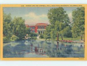 Unused Linen CAMPBELL HALL AT OHIO STATE UNIVERSITY Columbus Ohio OH L7168-33