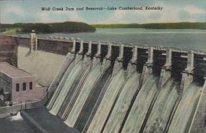 Kentucky Lake Cumberland Wolf Creek Dam And Reservoir