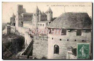 Postcard Old Carcassonne Cite La Tour Visigoth