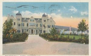 LEOMINSTER, Massachusetts, PU-1916; Residence of H. L. Pierce