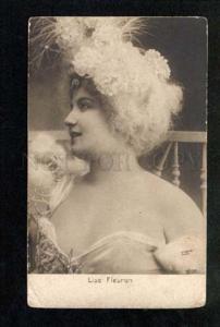 034523 Lise FLEURON Opera Star DANCER Vintage PHOTO