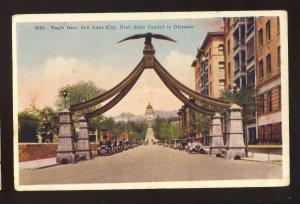 Salt Lake City, Utah/UT Postcard, Eagle Gate