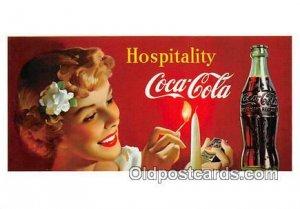 Coca Cola Advertising produced year 1991 Unused