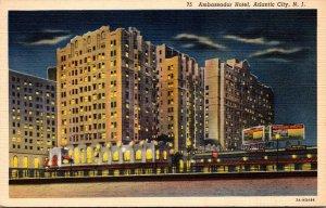 New Jersey Atlantic City The Ambassador Hotel Curteich