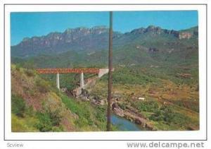 Railroad Bridge Over Creek, Chihuahua, Mexico, 40-60s