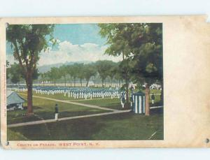 Pre-1907 CADETS ON PARADE West Point New York NY hp9154