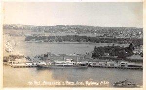 RPPC Port Macquarie & Farm Cove, Sydney, NSW, Australia Vintage Photo Postcard