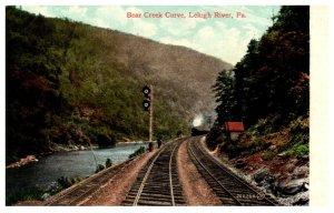 Pennsylvania  Lehigh River ,  Bear Creek Curve