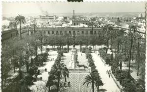 Spain, Sevilla, Plaza Nueva unused Postcard