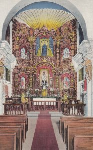 TUCSON , Arizona , 30-40s ; Mission San Xavier Del Bac , Interior