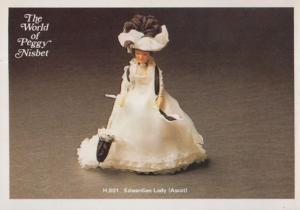 Ascot Edwardian Fashion Horse Racing Toy Doll The World Of Peggy Nisbet Postcard