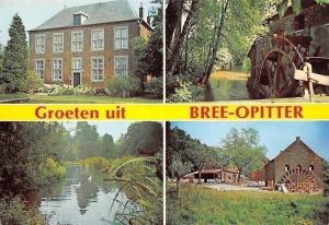 Belgium Groeten uit Bree-Opitter, Mill Muehle River Moule