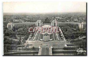 Old Postcard Paris and Wonders General view of the Palais de Chaillot