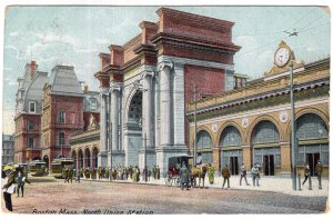 Boston, Mass, North Union Station