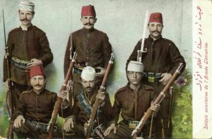 turkey, Voluntary Soldiers of the Liberation Army (1910s) Moïse Jsraelowitz 153