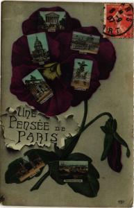 CPA Une pensée de Paris (301670)