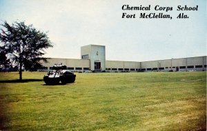AL - Anniston. Fort McClellan, Chemical Corps School