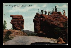 GARDEN OF THE GODS COLORADO STEAMBOAT ROCK