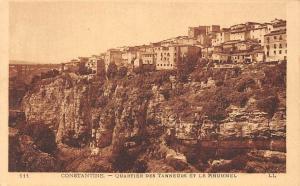 Algeria Constantine - Quartier des Tanneurs et le Rhummel, Rhumel