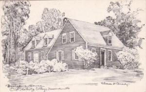 Massachusetts Old Sturbridge Village Mashapaug House