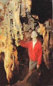 Rushmore Cave in Black Hills, The Floral Stalactite Room, South Dakota, Uni...