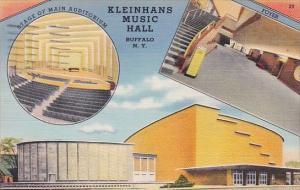 New York Buffalo Kleinhans Music Hall 1942