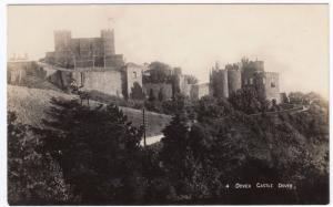 Kent; Dover Castle RP PPC, Unposted, c 1910's