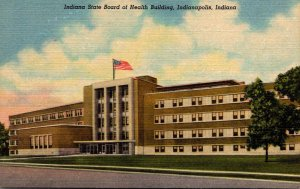 Indiana Indianapolis Indiana State Board Of Health Building Curteich