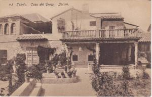Casa del Greco, Jardin, Toledo, Castilla-La Mancha, Spain, 00-10s
