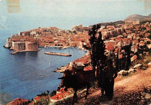 Yugoslavia Old Vintage Antique Post Card Panorama Dubrovnik Unused