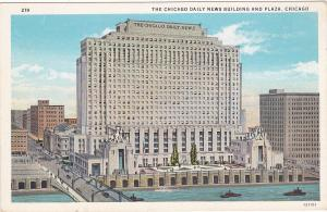 CHICAGO, Illinois, 00-10's; Daily Newspaper Building and Plaza # 2