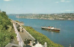 QUEBEC CITY , Quebec , 1950-60s ; La Promenade Des Gouverneurs