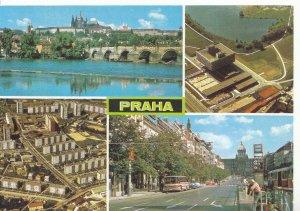Czech Republic Postcard - Views of Praha - Ref ZZ5582
