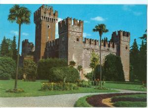 Italy, Lago di Garda, Lazise, Il Castello, 1981 used Postcard