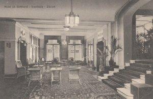 ZURICH , Switzerland , 00-10s ; Hotel St. Gotthard , Vestibule #2