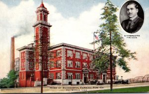 Iowa Des Moines Home Of Successful Farming Publishing Company