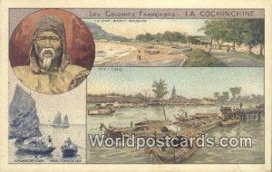 Les Colones Francaises, La Cochinchine La Cochinchine Vietnam, Viet Nam Writi...