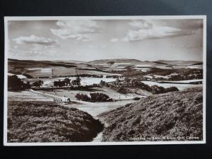 Scotland: Looking to SELKIRK from Golf Course - Old RP PC by A.R.Edwards & Son