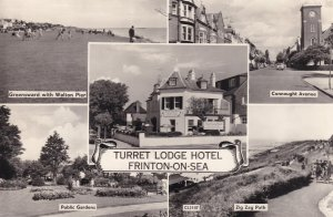 Turret Lodge Hotel Frinton On Sea Vintage Plain Back Real Photo Postcard