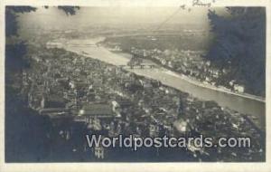 Stadt Heidelberg Germany, Deutschland Postcard Blick vom Rindenhauschen Stadt...