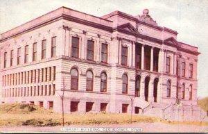 Iowa Des Moines Library Building 1910