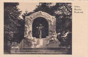 Austria Vienna Strauss Denkmal Real Photo