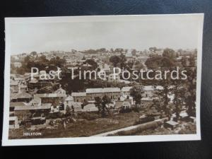 Cornwall HELSTON Panoramic View of Town - Old RP Postcard