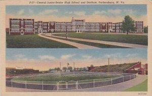 West Virginia Parkersburg Central Junior-Senior High School & Stadium Cur...
